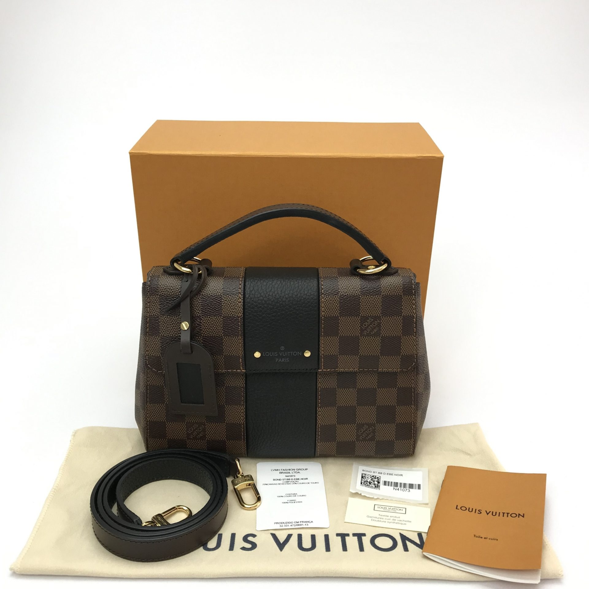 e682ea2a8 Bolsa Louis Vuitton Bond Street BB