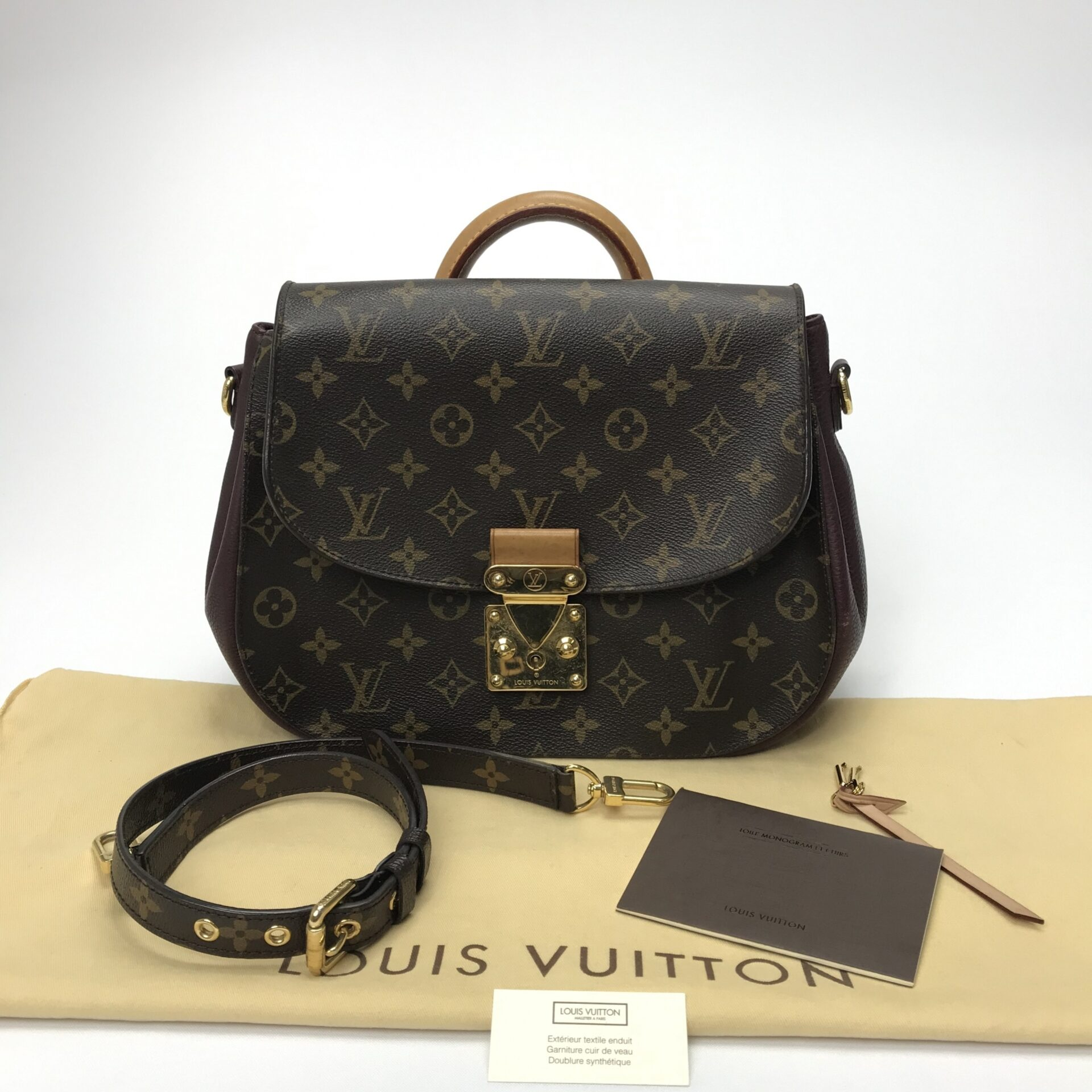 2da312e41 Bolsa Louis Vuitton Eden MM Monogram