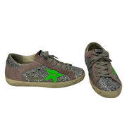 Tênis Golden Goose Superstar Glitter Prata